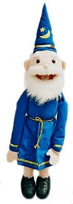 Puppet  Old  Wizard 26  Ventriloquist.Play,Educational.Moving Mouth And Arm Rod • 36£