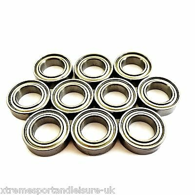 10 Pack MR128 Zz  [8x12x3.5mm] Miniature Series HIGH PERFORMANCE BEARINGS • 8.75£
