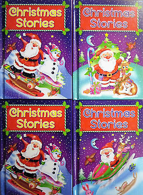 Early Reading Christmas Hardback Story Books 4 To Collect, 3 Stories 94 Pages • 2.99£