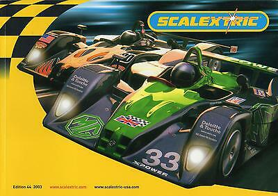 Scalextric 2003 Catalogue - Edition 44 • 7£