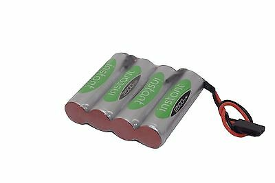 4.8v Battery Pack NEW Technology Nimh+ Flat Futaba VAPEXTECH 2500mAh LSD RX • 8.25£