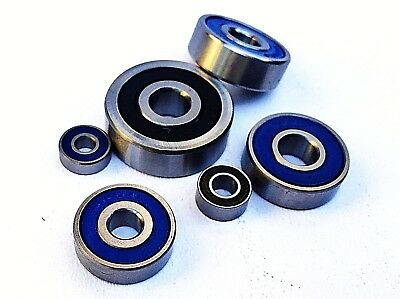 600 - 699 2rs DOUBLE SEALED METRIC HIGH PERFORMANCE MINIATURE BEARINGS UK SELLER • 8.75£