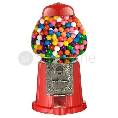 Gumball Dispenser Machine Toy 90g Bubble Gum Bag Included Coin Operated Bank New • 9.95£