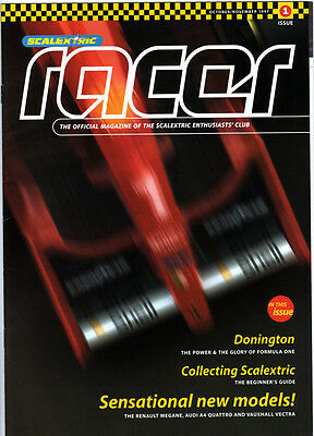 Scalextric Racer Magazine  - Various Issues Available • 3£