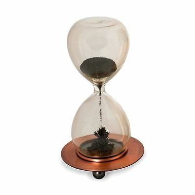 Magnetic Timer Iron Filled Half Minute Glass Hourglass Executive Desk Toy • 10.11£