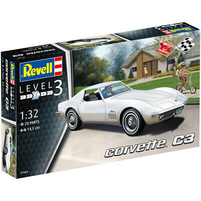 Revell Chevrolet Corvette C3 Stingray (Level 3) (Scale 1:32) NEW • 11.90£