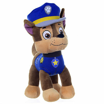 New Official 12  Paw Patrol Chase Pup Plush Soft Toy Nickelodeon Dogs • 11.99£