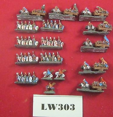 6mm Scale Knights & Wagons, Suitable For DBA Metal Ref LW303 • 22£