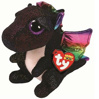 Ty Beanie Boos 36897 Anora The Black Dragon Boo Regular • 7.50£