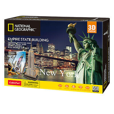 National Geographic - New York - Empire State Building - 3D Puzzle • 16.99£