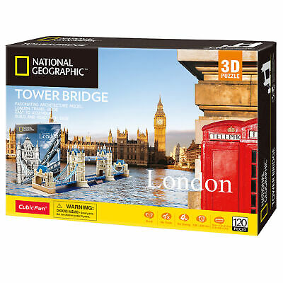 National Geographic - London - Tower Bridge - 3D Puzzle • 16.99£