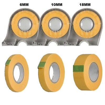 TAMIYA Masking Tape 6mm 10mm 18mm With Dispenser Or Refills Choose Your Size • 4.99£