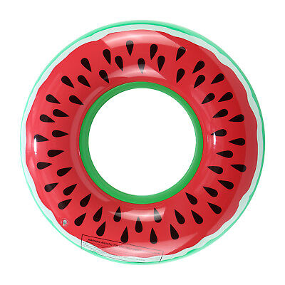 Inflatable Watermelon Float Raft Swimming Pool Beach Fun Sport Swim Ring Hot • 4.79£