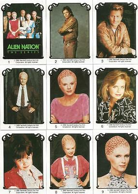 Alien Nation The Series Trading Cards Full 60 Card Set From 1990 • 4.95£