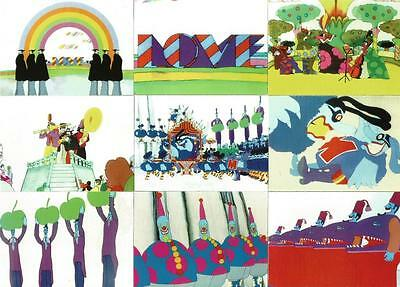 The Beatles Yellow Submarine Collector Cards Full 72 Card Base Set From DuoCards • 9.95£