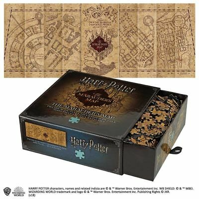 Harry Potter Marauders Map Puzzle 1000 Pieces Noble Collection Official • 19.46£