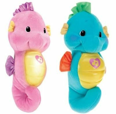 Fisher Price Soothe And Glow Seahorse Blue, Pink • 14.99£