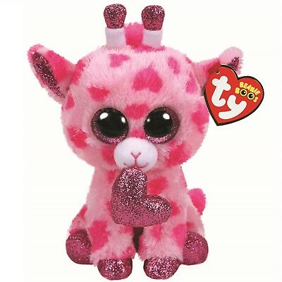 Ty Beanie Boos 36660 Sweetums The Pink Giraffe Valentine Boo Regular • 7.50£