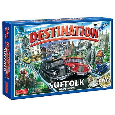 Reduced Destination Suffolk Board Game 10th Anniversary Edition Family Kids Gift • 12.49£