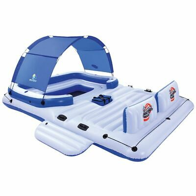 Bestway Tropical Breeze Inflatable Floating Island 389x274cm Lounger 43105 • 241.99£