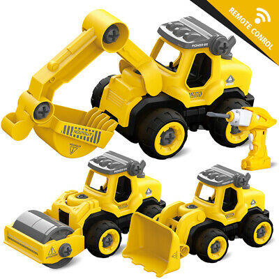Large 1/16 Transport Wrecker Tow Truck Lorry Light& Sound Rubbish  Car Toy • 8.99£