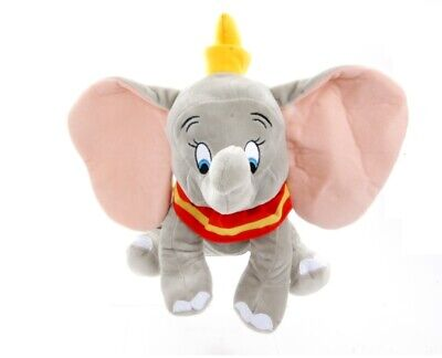 New Official Disney 12  Grey Dumbo Soft Plush Toy  • 11.99£