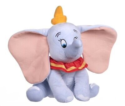New Official Disney 12  Blue Dumbo Soft Plush Toy  • 11.99£