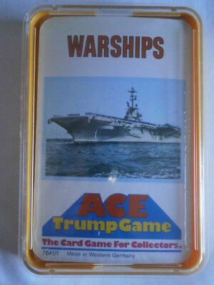 ** Brand New & Sealed ** Vintage ACE Top Trumps Rare - WARSHIPS • 21.99£