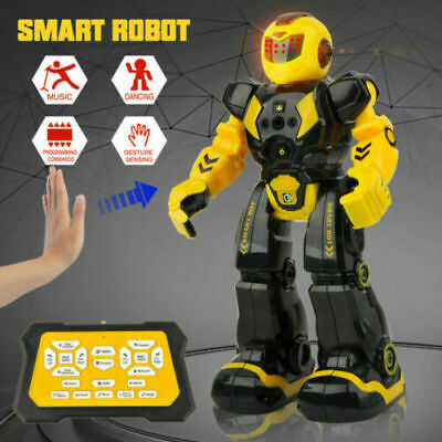 Kids Funny RC Smart Robot Toy Remote Control Interactive Dancing Singing Walking • 18.99£