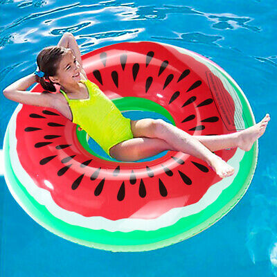 Kids Child Inflatable Donut Rubber Ring Pool Float Lilo Toys Doughnut Dohnut XL • 4.79£