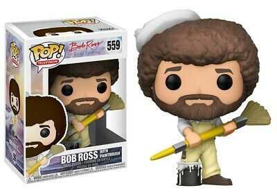 Funko - POP TV: Bob Ross - Bob Ross In Overalls Brand New In Box • 18.99£