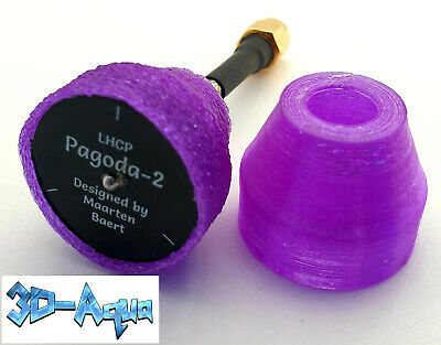 Pagoda 2 FPV Antenna 5.8G 5dBi L/RHCP, SMA (as Designed By Maarten Baert) • 6.79£