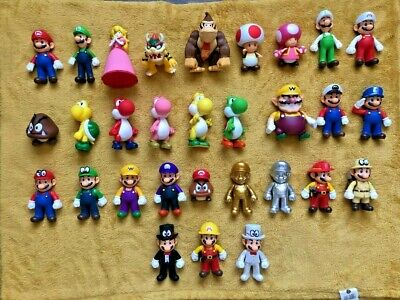 Super Mario 5  Large Figure Collection - Choice Of 30 Different Characters - NEW • 21.25£