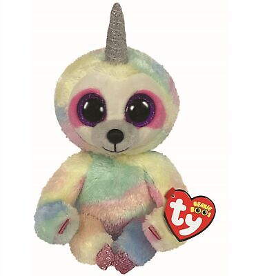 Ty Beanie Boos 36323 Cooper The Pastel Sloth With Horn Boo Regular • 7.50£