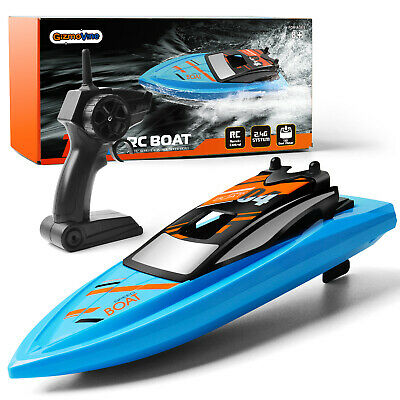 H130 2.4G Remote Control High Speed RC Boats Racing Toys For Pool Lake River UK • 19.49£