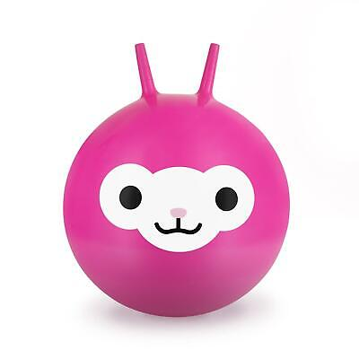 Leaping Llama Space Hopper Pink Bouncy Inflatable Outdoor Toy Exercise Ball • 11.60£