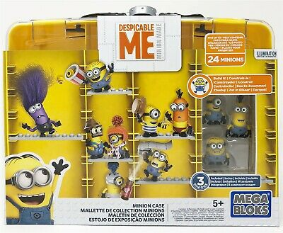 Mega Bloks Despicable Me Minions Carry Case With Stuart Phil Tim Mini Figure • 13.99£