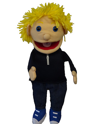 Puppet Boy Tom 15  Ventriloquist.Play .Moving Mouth &hands • 16£