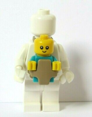LEGO Baby Carrier Holder                   Plain Minifigure & Baby  Not Included • 2.20£