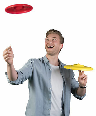 Wicked SKY SPINNER Beach Toy Fun Game YELLOW Birthday Gift • 11.14£