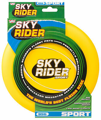 Wicked Sky Rider Sport Frisbee Flying Disc Beach Toy Fun Game YELLOW • 7.23£