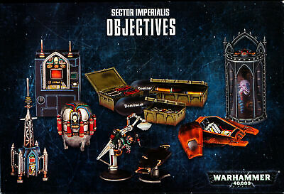 Warhammer 40,000 Sector Imperialis Objectives • 3.99£