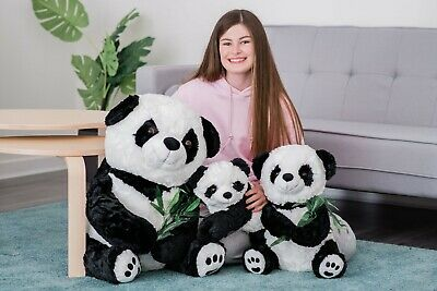 70cm Large Enormous Panda Gift Cuddly Giant Soft Toy Teddy Huge Stuffed Bamboo  • 28.90£