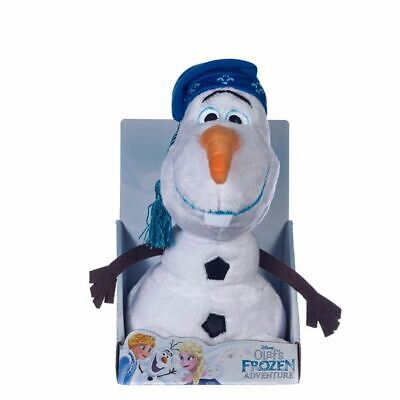 Disney Frozen - Olaf Soft Toy With Hat - New & Boxed - Gift Quality 10  - 26cm • 13.99£