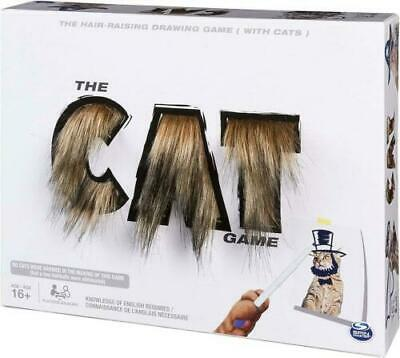New Official Spin Master The Cat Game Drawing Party Board Game • 9.99£