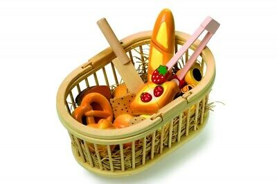 Legler Wooden Picnic Basket Kitchen And Food Toy • 20£
