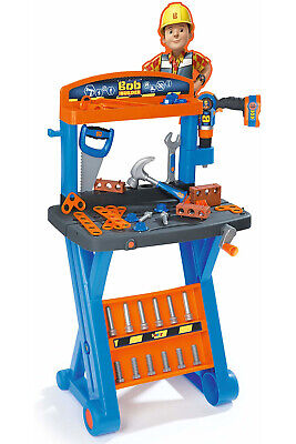 Smoby 360306 Bob The Builder First Workbench Pretend Play • 39.50£