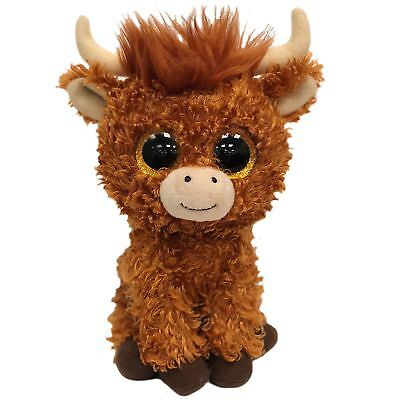 Ty Beanie Boos 36659 Angus The Scottish Brown Highland Cow Boo Regular • 7.95£