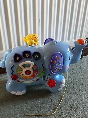 V Tech Pull And Play Elephant Musical Fully Working • 12.99£