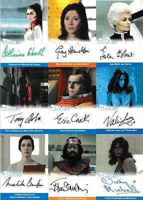 Space 1999 Series 3 Auto Autograph Trading Card Selection - Unstoppable • 17.95£